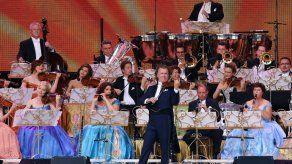 El violinista holandés André Rieu se presentará en Colombia en septiembre