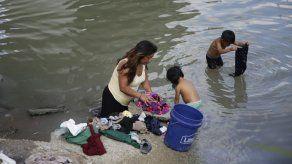 Crisis humanitaria en campamento de migrantes en México