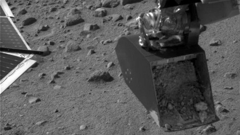 Problema interrumpe experimento de sonda en Marte