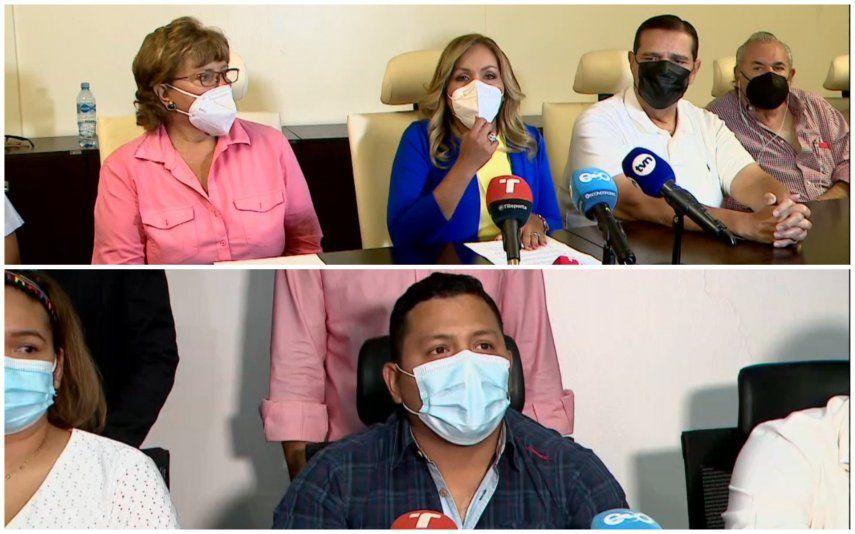 Las bancadas de los partidos Cambio Democrático y Panameñista sostuvieron reuniones este 29 de junio