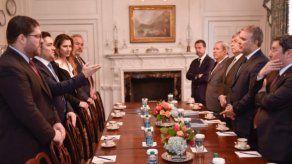 El presidente de Colombia se reúne con representantes de Guaidó en Washington