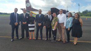 Inauguran primer vuelo chárter desde el aeropuerto de Colón hacia Colombia