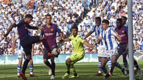 Sufrida victoria de Barcelona ante la Real Sociedad