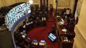CFK preside primera sesión virtual del Congreso argentino