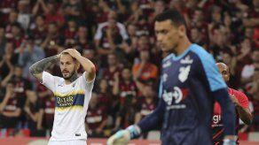 Paranaense golea a Boca y lidera grupo en Libertadores