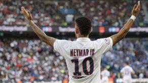 Reducen a 2 juegos la sanción a Neymar en Champions