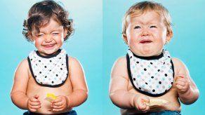 Bebés experimentan el sabor del limón por primera vez