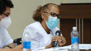 La presidenta de La Asociación Nacional de Enfermeras de Panamá (ANEP), Ana Reyes.