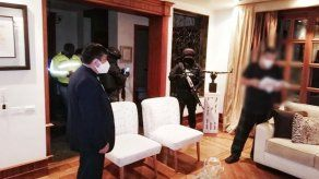 La Fiscalía ecuatoriana efectuó 25 allanamientos.