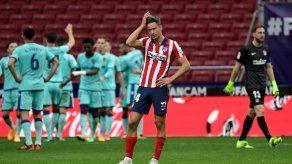 El líder Atlético de Madrid cae sorpresivamente ante Levante