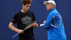 Andy Murray rompe otra vez con su entrenador Ivan Lendl