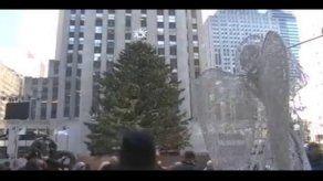 Nueva York: Rockefeller Center enciende su árbol de Navidad