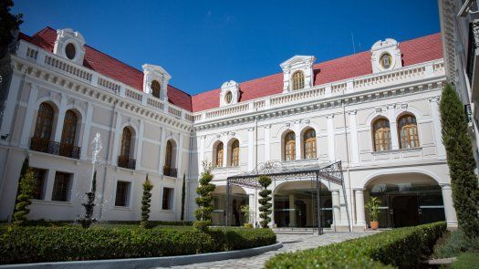 Palacio de Najas, sede de la Cancillería de Ecuador.