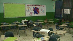 Suspenden clases en el Fermín Naudeau por malas condiciones del plantel