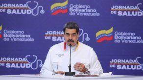 El presidente de Venezuela, Nicolás Maduro, durante una jornada de Salud, en Caracas (Venezuela).