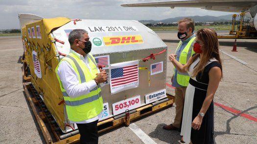 Llega a Panamá vigésimo quinto lote de las dosis de la vacuna de Pfizer.