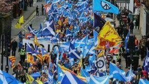 Miles de personas demandan en Escocia un nuevo referéndum de independencia