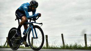 Landa tiene una vértebra fracturada y no participará en la Vuelta