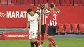 Sevilla sale de la pelea por LaLiga tras perder contra el Athletic