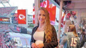 La novia de Patrick Mahomes critica los tuits dedicados al quarterback durante la Super Bowl