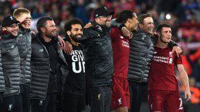 Jugadores del Liverpool destacan la fe del equipo en la remontada