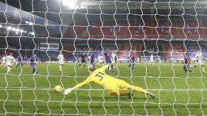 Leicester rescata empate en su visita a Crystal Palace