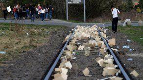 Turista intenta robar objeto de Auschwitz