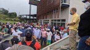 Residentes de Panamá Norte le exigen al alcalde Fábrega se culmine el parque municipal