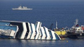 Retirarán crucero Costa Concordia a más tardar en septiembre