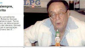 La prensa salvadoreña le dice adiós al artista mexicano Chespirito