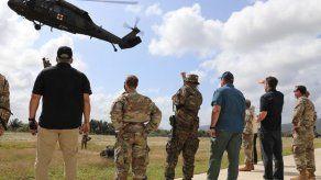 Estamentos de seguridad panameños y la Fuerza Bravo realizan operaciones humanitarias en Darién