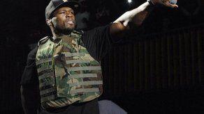 Rapero 50 Cent sufre accidente automovilístico