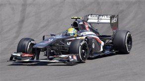 Sauber confirma al mexicano Gutiérrez como piloto para el Mundial-2014