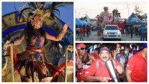 Los más pequeños disfrutaron del Sábado de Carnaval en la Cinta Costera