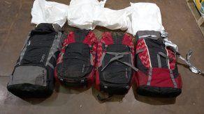 La presunta droga fue decomisada dentro de un camión articulado en Changuinola.