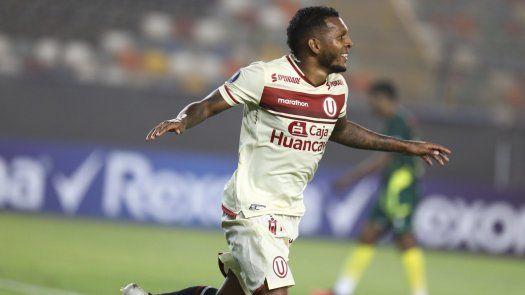 Negrito Quintero anotó en Libertadores con Universitario