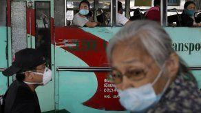 Tráfico en Filipinas en la salida de cuarentena