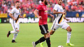 Manchester United golea 5-2 en amistoso al Los Angeles Galaxy