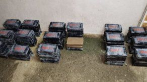Incautan en Bique 84 paquetes de droga escondidos en tanques