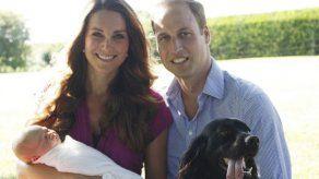 Los duques de Cambridge se despiden de su querido perro Lupo