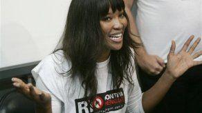 Rechazan sangre de Naomi Campell en Brasil