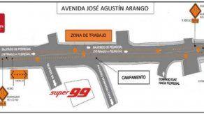 Anuncian cierre parcial en la Avenida José Agustín Arango a partir del viernes 31