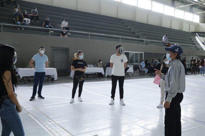 Los estudiantes de la USMA recibieron una inducción por parte del equipo de promoción de la salud del Minsa