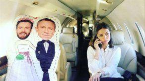 Ana de Armas organiza la luna de miel de Chris Evans y Daniel Craig