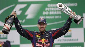 Vettel llevará el número 1