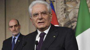 """Presidente italiano sugiere crear gobierno """"neutro"""""""