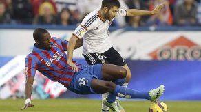El Levante empata en el último suspiro 1-1 con el Valencia