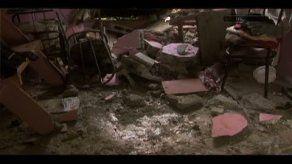 Enorme rollo de cable destruye vivienda en Torrijos Carter