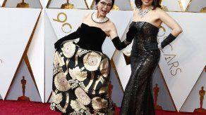 Rita Moreno apuesta por el vestido con el que ganó el Oscar en 1962