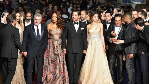 "Estreno de Hands of Stone"" en Cannes"